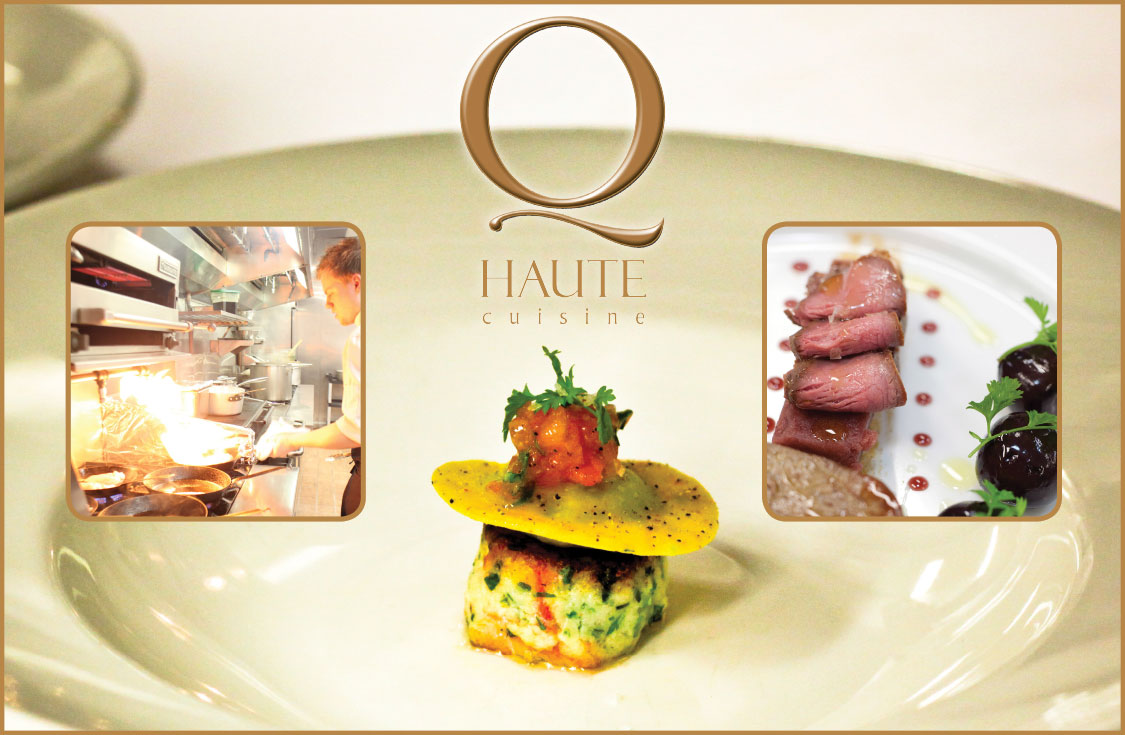 Q haute cuisine dining out in calgary canmore banff for Haute cuisine