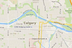 Calgary Downtown Map MAPS | Dining Out in Calgary, Canmore & Banff Calgary Downtown Map