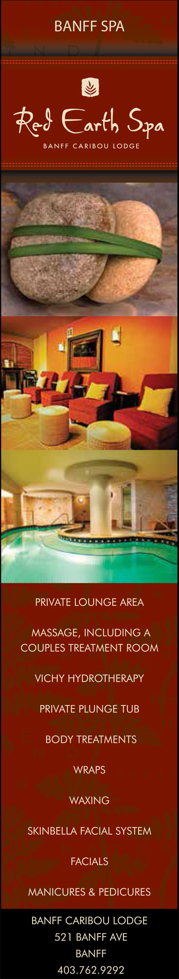 Red Earth Spa - Banff Caribou Lodge