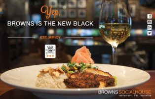 Browns Social House: Yep, Browns is the new black