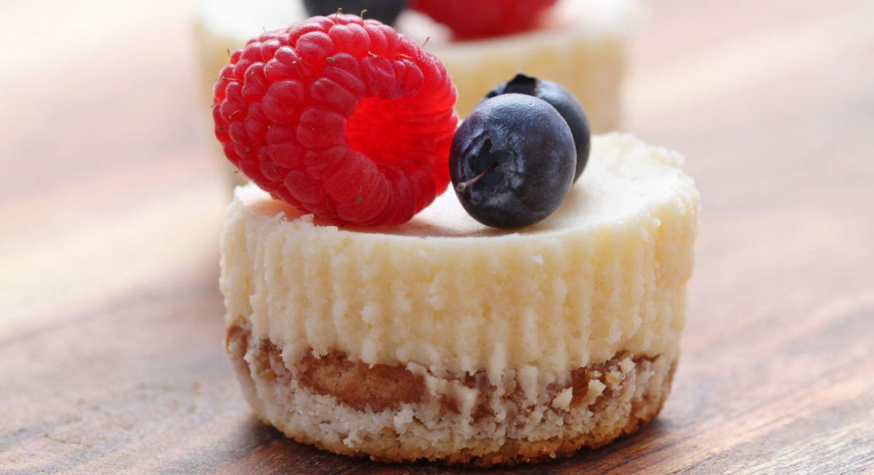 Petit Cheesecakes