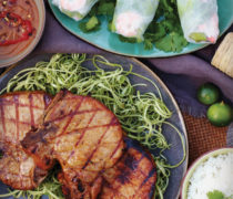 Lemongrass Chili Grilled Pork Chops